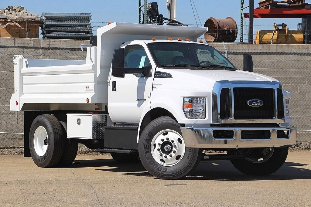 2017 F-650 Regular Cab, Scelzi Dump Bodies Dump Body #3909450 - photo 6
