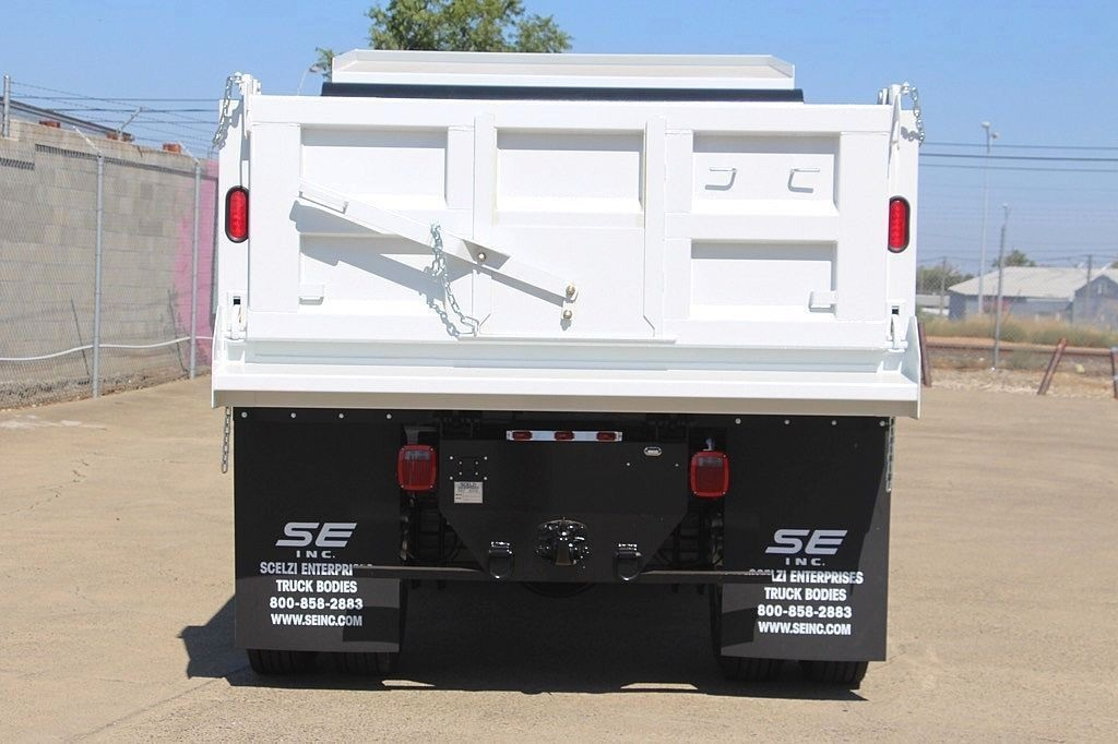 2017 F-650 Regular Cab, Scelzi Dump Bodies Dump Body #3909450 - photo 7