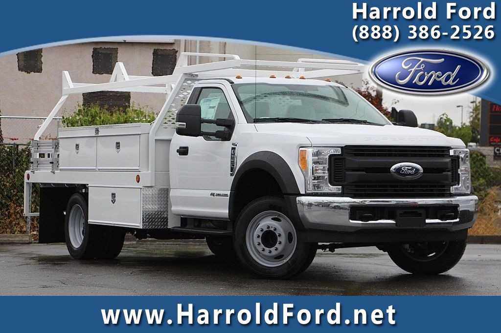 2017 F-550 Regular Cab DRW, Scelzi Contractor Flatbed Contractor Body #3923928 - photo 1
