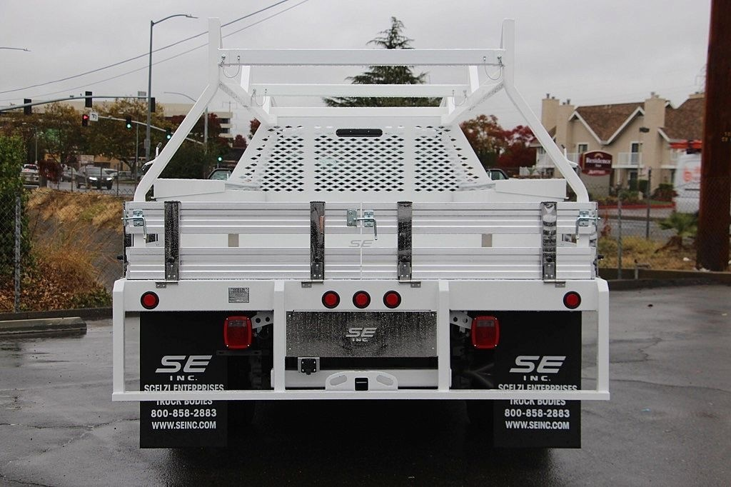2017 F-550 Regular Cab DRW, Scelzi Contractor Flatbed Contractor Body #3923928 - photo 7