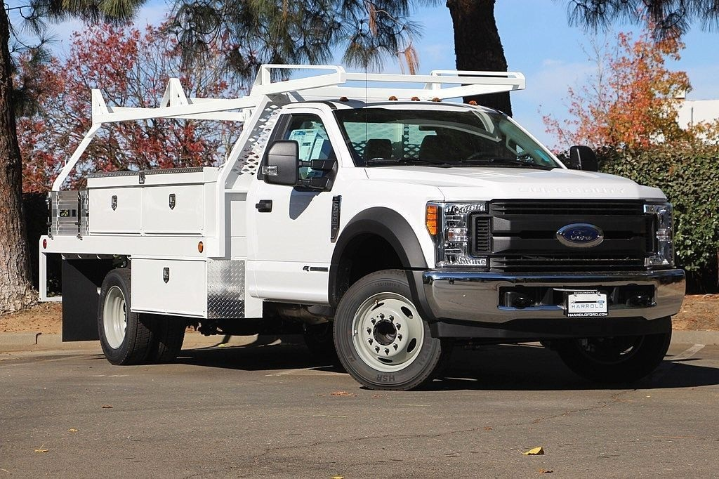 2017 F-450 Regular Cab DRW, Scelzi Contractor Body #3987709 - photo 3