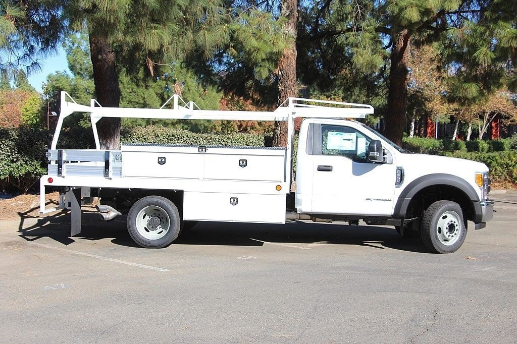 2017 F-450 Regular Cab DRW, Scelzi Contractor Body #3987709 - photo 6
