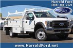 2017 F-450 Regular Cab DRW, Scelzi Contractor Flatbed Contractor Body #3991490 - photo 1