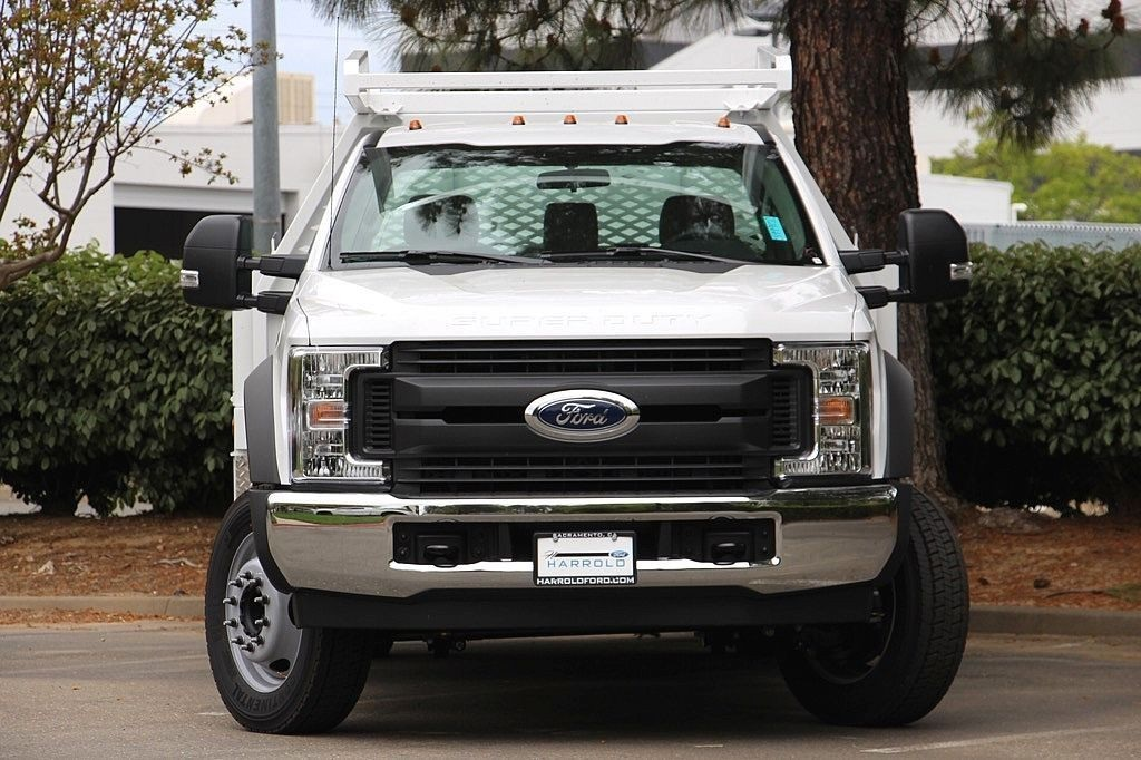 2018 F-450 Regular Cab DRW, Scelzi Contractor Body #3999152 - photo 4