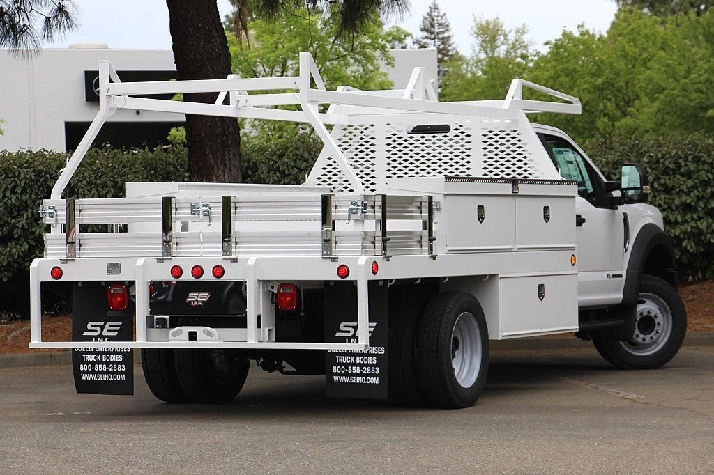 2018 F-450 Regular Cab DRW, Scelzi Contractor Body #3999152 - photo 2