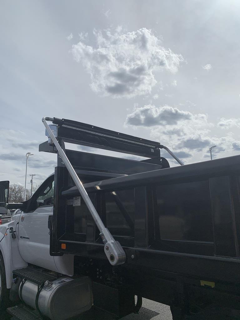 2021 F-750 Regular Cab DRW 4x2,  Rugby Titan Dump Body #NT1355 - photo 12
