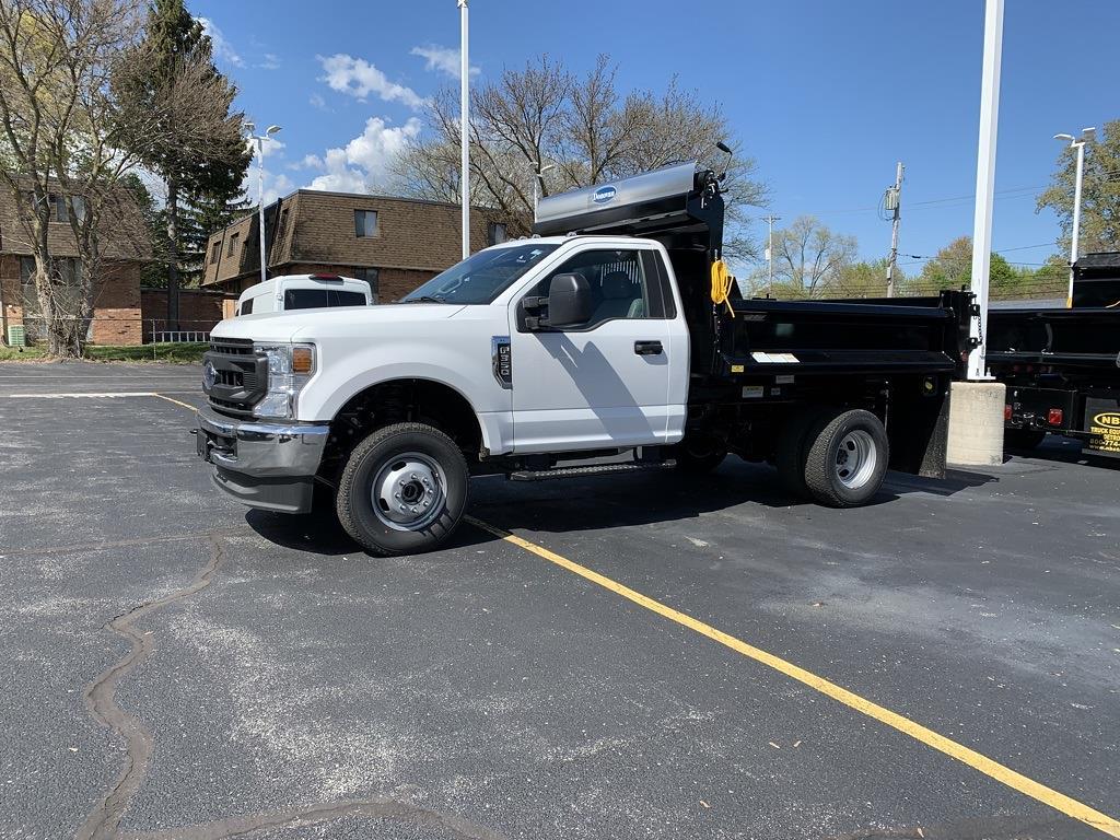 2021 Ford F-350 Regular Cab DRW 4x4, DuraClass Dump Body #NT1489 - photo 1