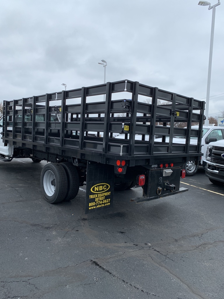 2020 Ford F-550 Regular Cab DRW 4x2, Parkhurst Stake Bed #T23516 - photo 1