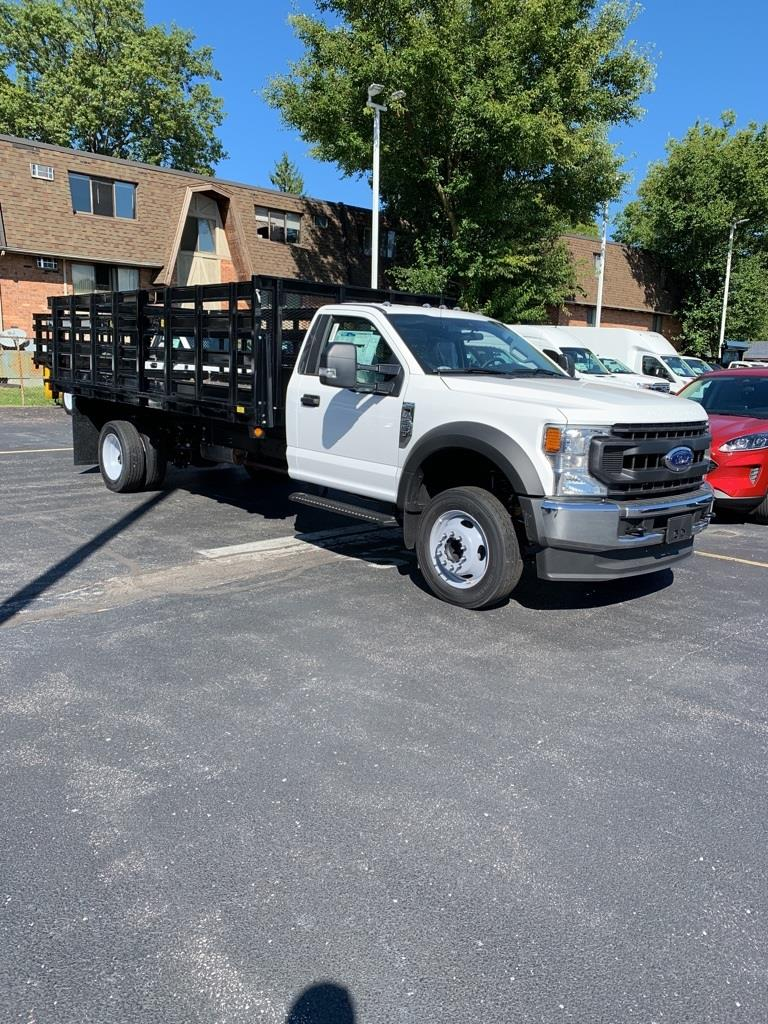 2020 Ford F-550 Regular Cab DRW 4x2, Parkhurst Stake Bed #T24181 - photo 1