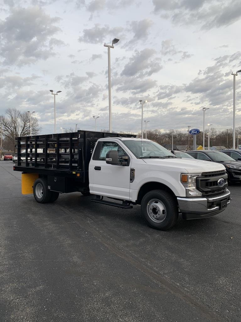2020 Ford F-350 Regular Cab DRW 4x2, Parkhurst Stake Bed #T24529 - photo 1