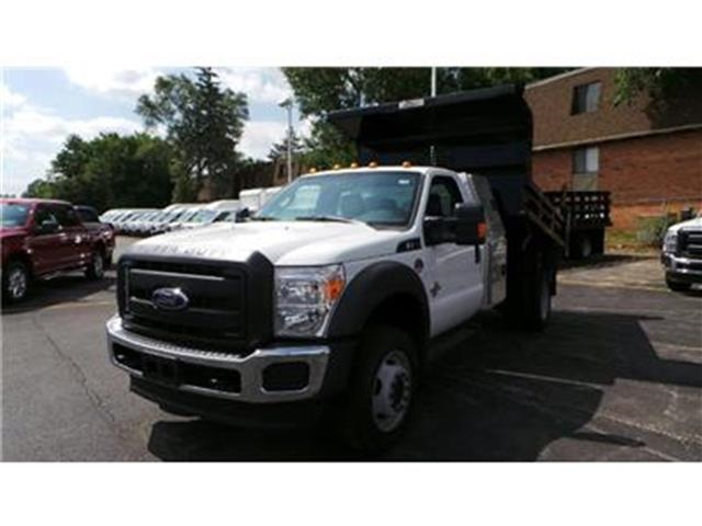 2016 F-550 Regular Cab DRW 4x4, Rugby Dump Body #T62042 - photo 3
