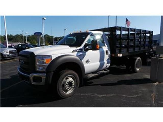 2016 F-550 Regular Cab DRW 4x4, Knapheide Stake Bed #T62198 - photo 2