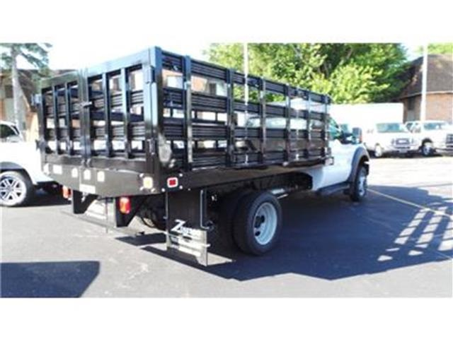 2016 F-550 Regular Cab DRW 4x4, Knapheide Stake Bed #T62198 - photo 4