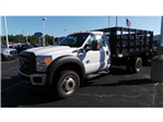 2016 F-550 Regular Cab DRW 4x4, Knapheide Stake Bed #T62198 - photo 1