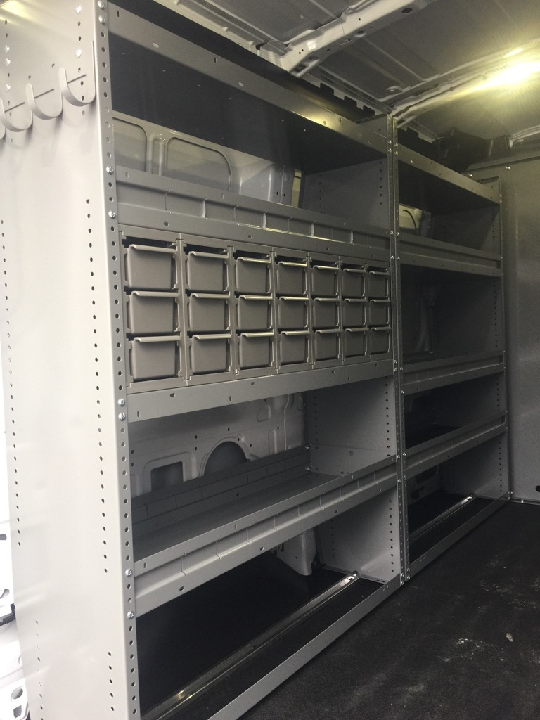 2017 Transit 250 Medium Roof, Van Upfit #T70456 - photo 8