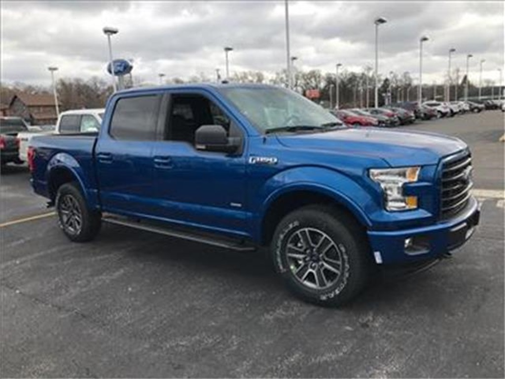2017 F-150 Crew Cab 4x4 Pickup #T71047 - photo 3
