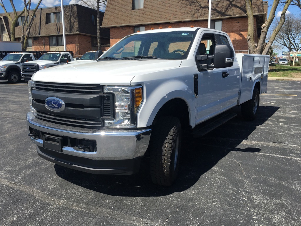 2017 F-350 Super Cab 4x4, Reading Service Body #T71788 - photo 2