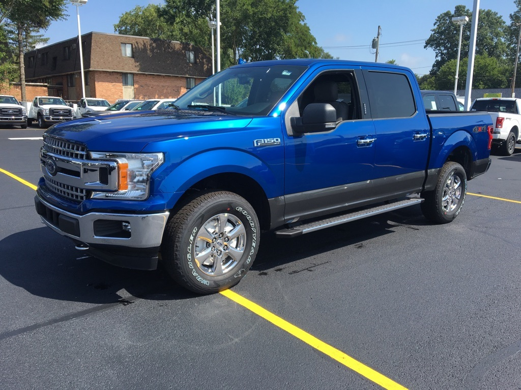2018 F-150 Crew Cab 4x4 Pickup #T80109 - photo 3
