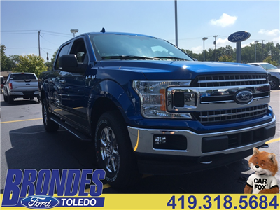 2018 F-150 Crew Cab 4x4 Pickup #T80109 - photo 1
