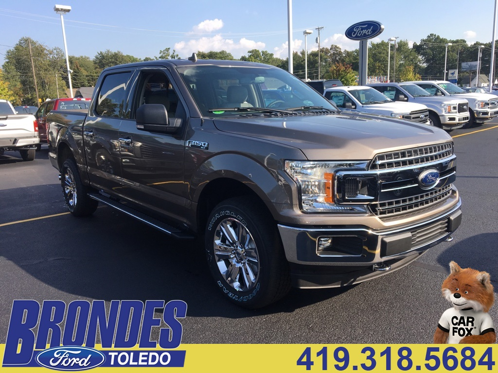 2018 F-150 Crew Cab 4x4, Pickup #T80162 - photo 1