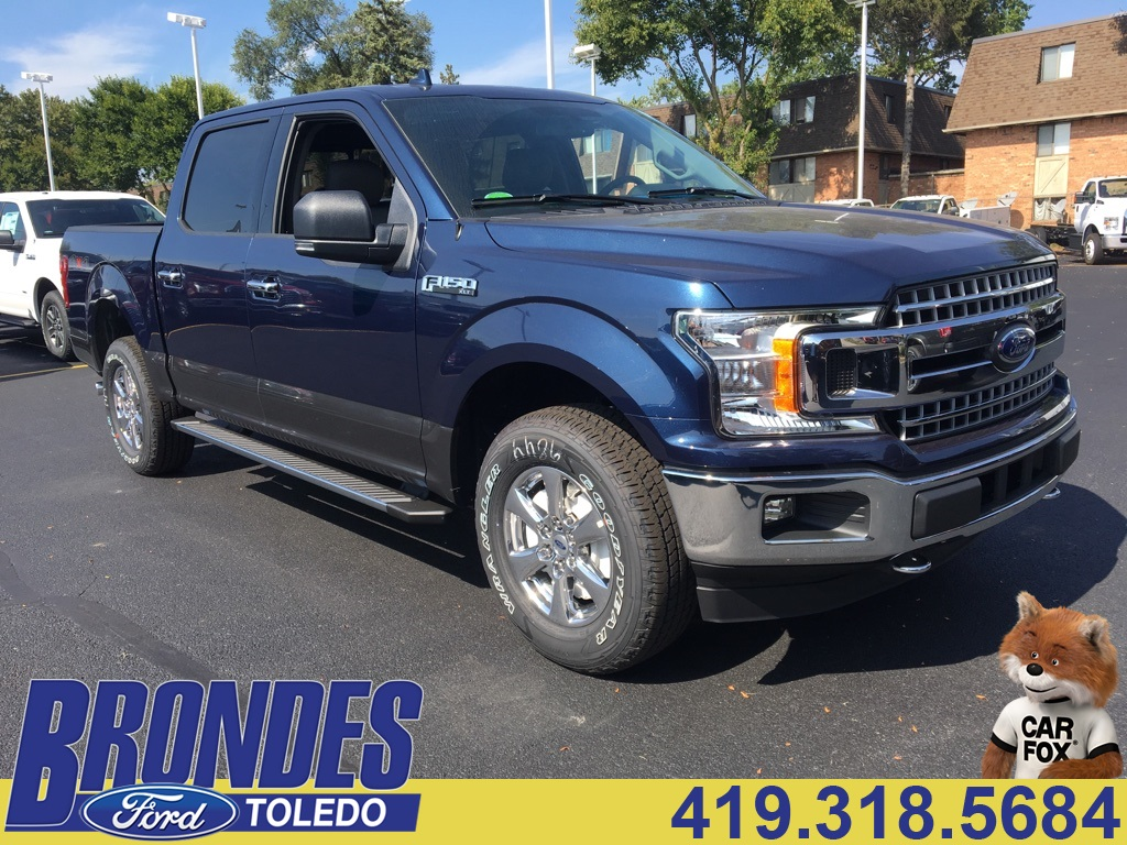 2018 F-150 Crew Cab 4x4 Pickup #T80164 - photo 1