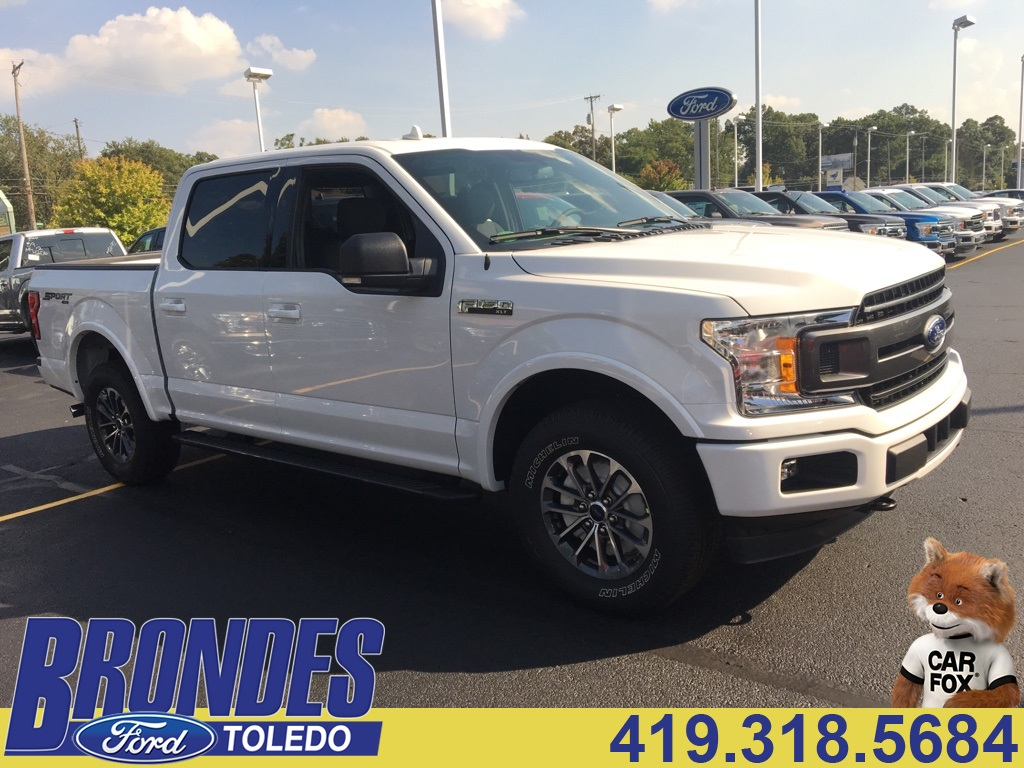 2018 F-150 Crew Cab 4x4 Pickup #T80166 - photo 1