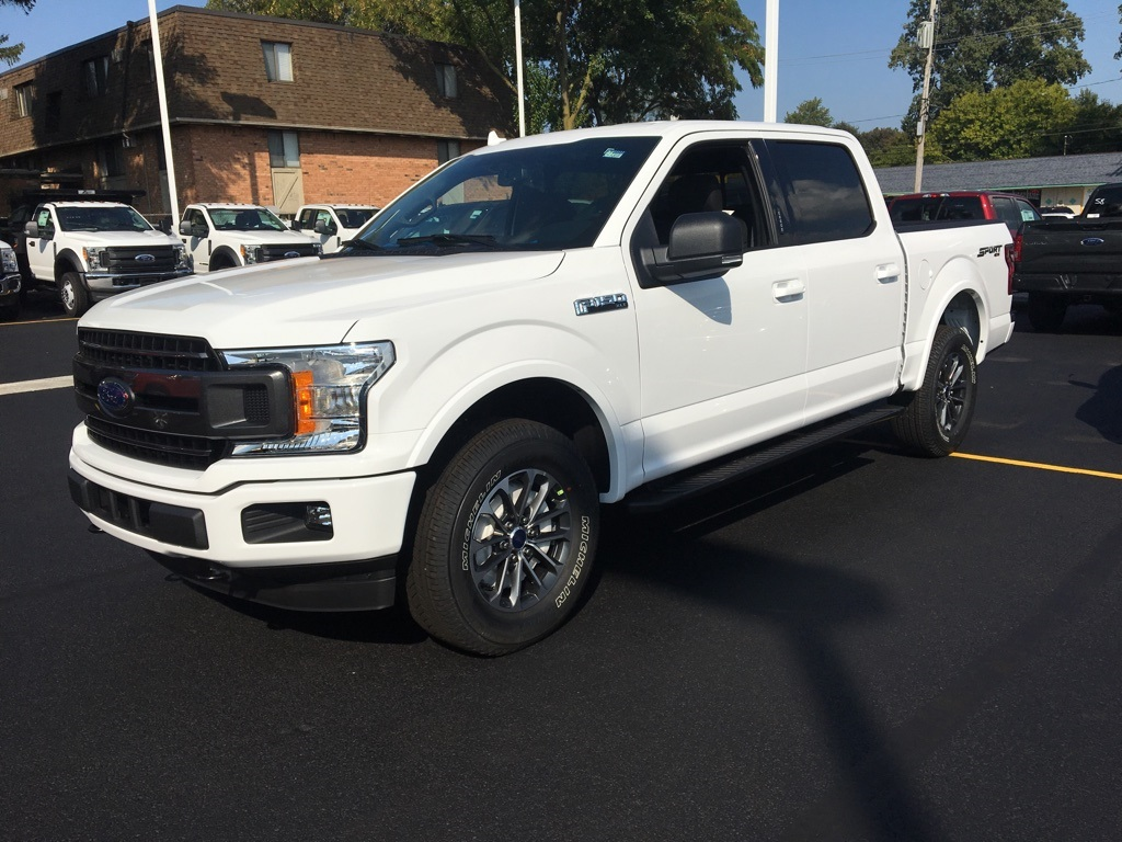 2018 F-150 Crew Cab 4x4 Pickup #T80166 - photo 3