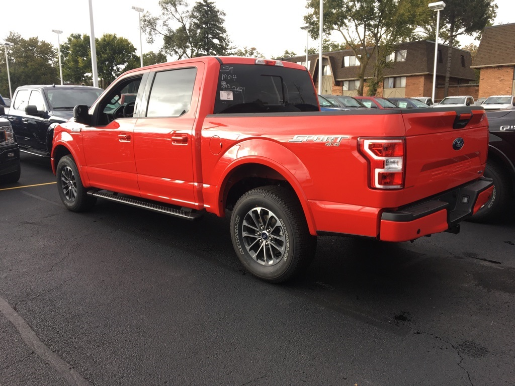 2018 F-150 Crew Cab 4x4 Pickup #T80281 - photo 4