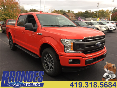2018 F-150 Crew Cab 4x4, Pickup #T80281 - photo 1