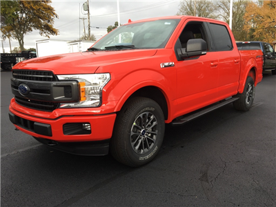 2018 F-150 Crew Cab 4x4, Pickup #T80281 - photo 3