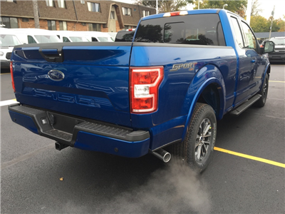 2018 F-150 Super Cab 4x4, Pickup #T80348 - photo 2