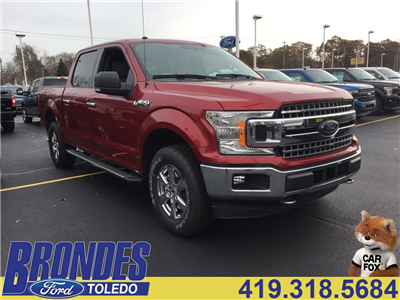 2018 F-150 Crew Cab 4x4 Pickup #T80419 - photo 1
