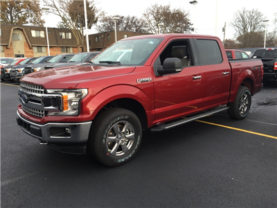 2018 F-150 Crew Cab 4x4 Pickup #T80419 - photo 3