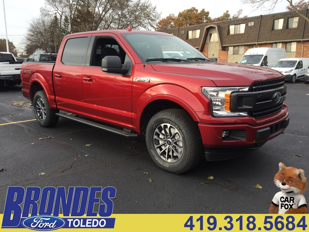 2018 F-150 Crew Cab 4x4 Pickup #T80428 - photo 1
