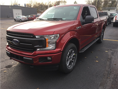 2018 F-150 Crew Cab 4x4 Pickup #T80428 - photo 3