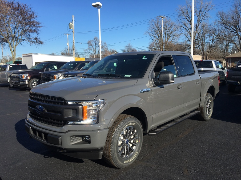 2018 F-150 Crew Cab 4x4 Pickup #T80459 - photo 3