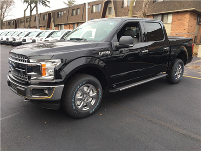 2018 F-150 Crew Cab 4x4 Pickup #T80550 - photo 3