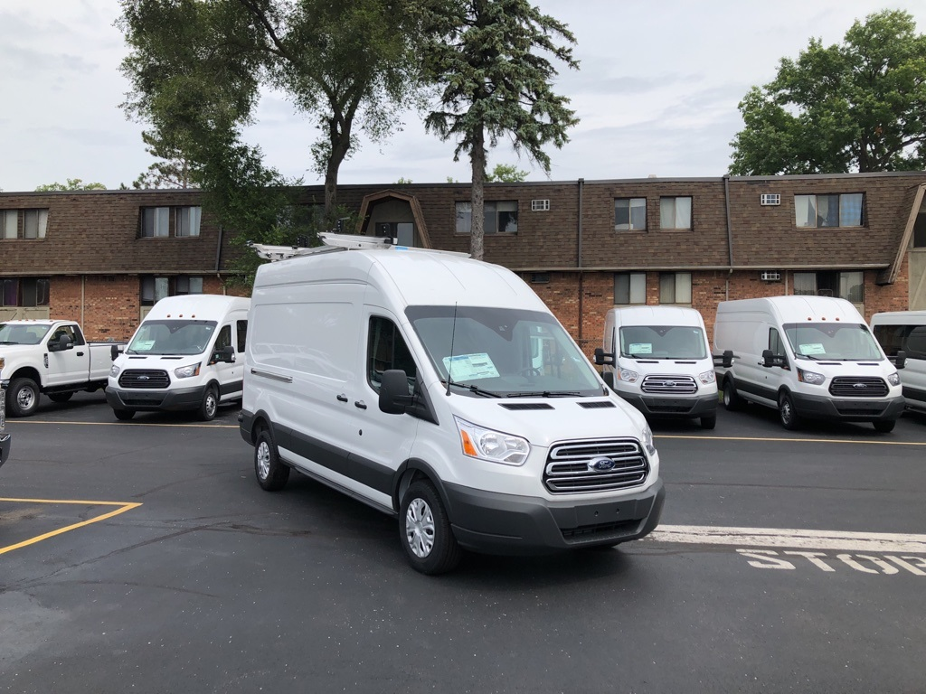 2018 Transit 350 High Roof 4x2,  Empty Cargo Van #T80745 - photo 4