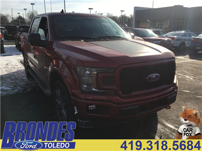 2018 F-150 Crew Cab 4x4, Pickup #T80788 - photo 1