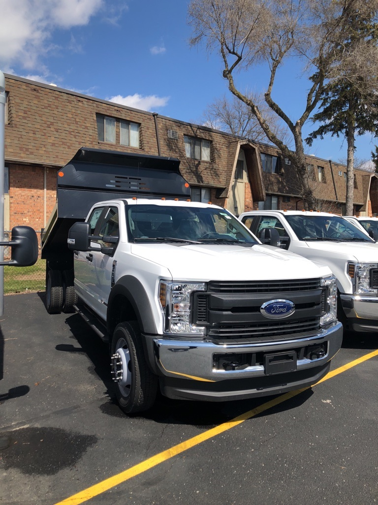 2018 F-550 Crew Cab DRW 4x4,  Monroe Dump Body #T81161 - photo 3