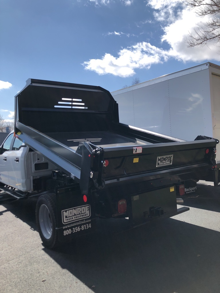 2018 F-550 Crew Cab DRW 4x4,  Monroe Dump Body #T81161 - photo 2