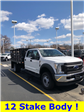 2018 F-550 Crew Cab DRW 4x4,  Knapheide Value-Master X Stake Bed #T81162 - photo 1