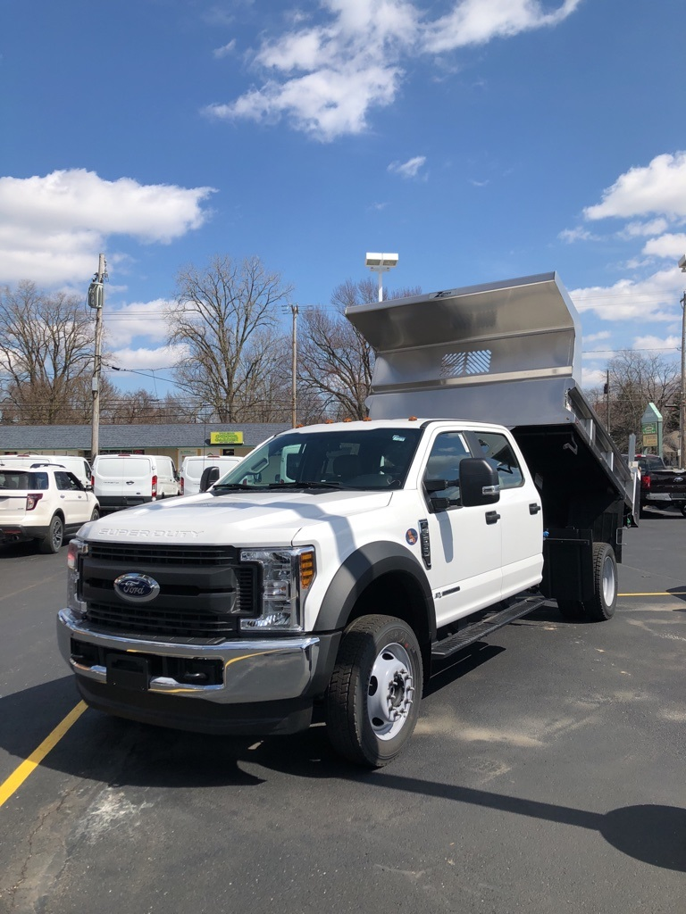 2018 F-550 Crew Cab DRW 4x4, Rugby Z-Spec Dump Body #T81163 - photo 1