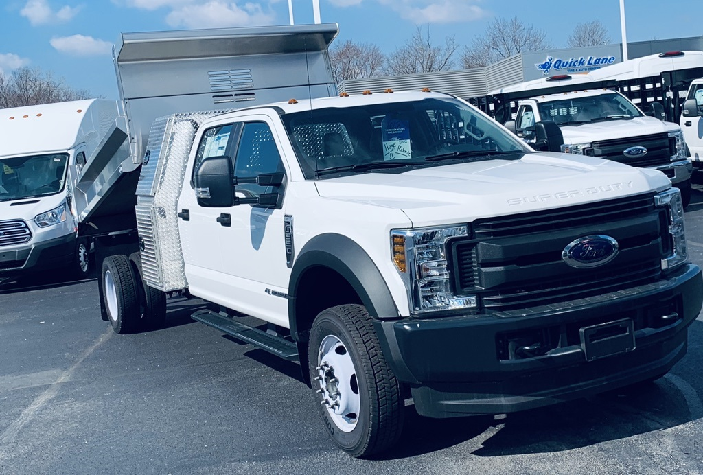 2018 F-550 Crew Cab DRW 4x4,  Air-Flo Dump Body #T81228 - photo 2