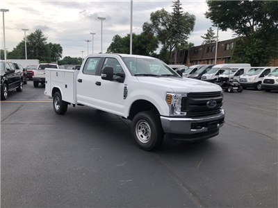 2018 F-250 Crew Cab 4x4,  Reading Classic II Steel Service Body #T81790 - photo 3