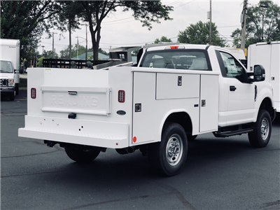 2018 F-250 Regular Cab 4x4,  Reading Classic II Steel Service Body #T81791 - photo 2