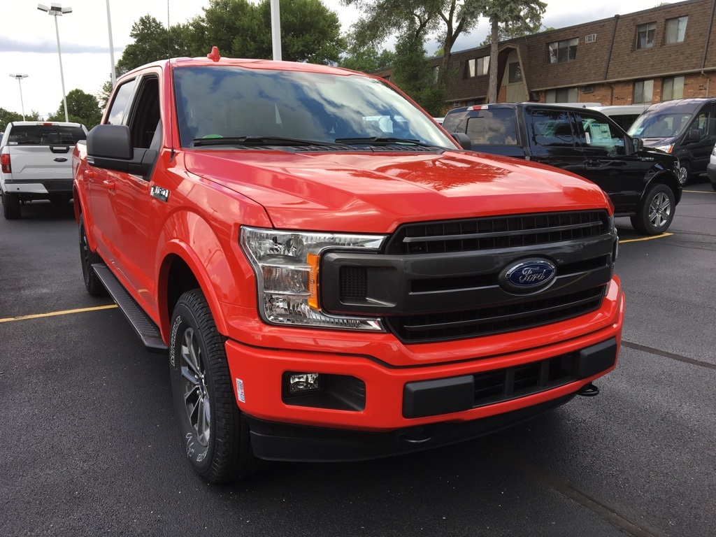 2018 F-150 SuperCrew Cab 4x4,  Pickup #T81854 - photo 3