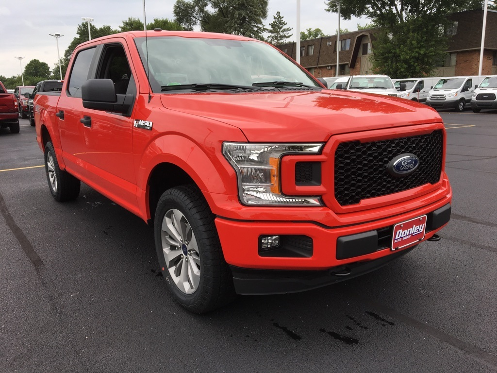 2018 F-150 SuperCrew Cab 4x4,  Pickup #T81870 - photo 3