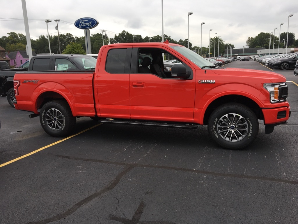 2018 F-150 Super Cab 4x4,  Pickup #T82045 - photo 4