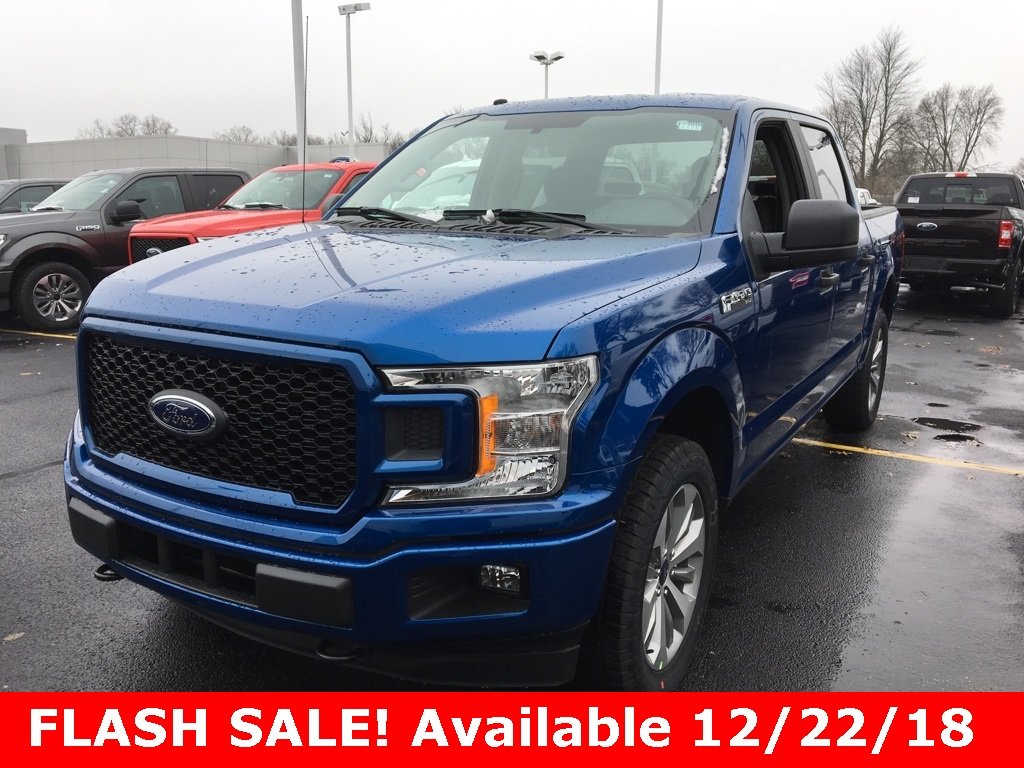 2018 F-150 SuperCrew Cab 4x4,  Pickup #T82335 - photo 1